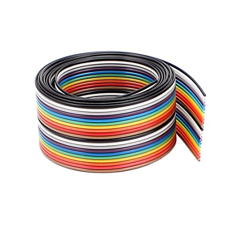 1,25mm Tonhöhe 20 Pin Breadboard Flachbandkabel Jumper Kabel 90CM 3Ft Flachkabel DE de -