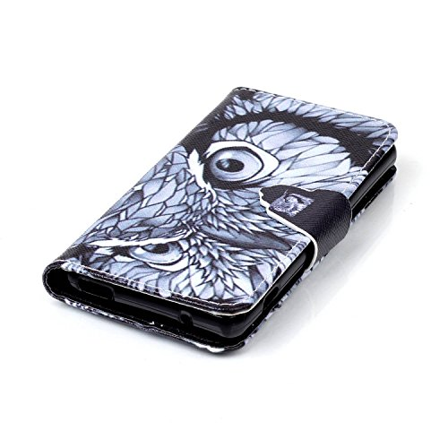 Voguecase® Pour Apple iPhone 5C Coque, Etui Housse Cuir Portefeuille Case Cover (Les jeunes amoureux 05)de Gratuit stylet l'écran aléatoire universelle Oeil de faucon