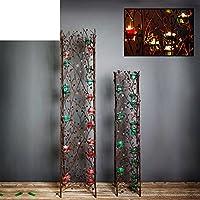 Candela europeo ornamenti/Antico candeliere a due pezzi