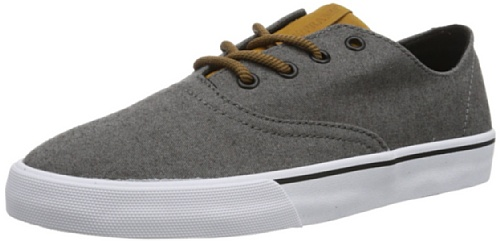 Supra WRAP S05037 Unisex-Erwachsene Sneaker Grau (BLACK/SPICE - WHITE BSC)