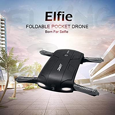 Oyedens JJRC H37 Altitude Hold HD Camera WIFI FPV RC Quadcopter Drone Selfie Foldable