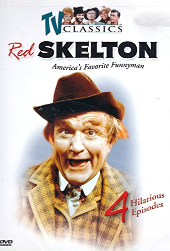 The Red Skelton Show, Vol.2 , 4 Hilarious Episodes ( Halloween show, How to make a salad, Mr. Lasagna and Do it yourself trailer home)