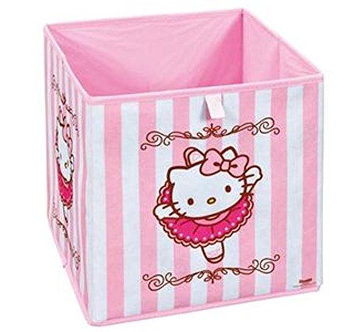 Panier de rangement pliable Hello Kitty, 32 x 32 x 32 cm -PEGANE-