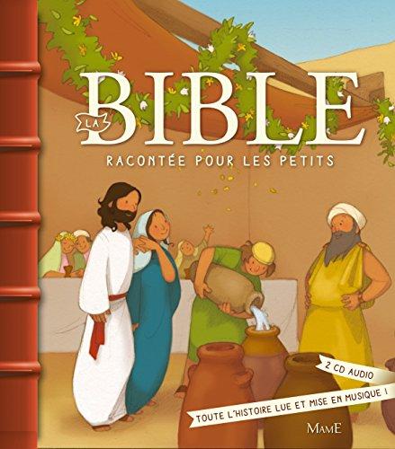 La Bible racontée pour les petits + CD par Karine-Marie Amiot