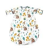 Yhz@ Baby Herbst Und Winter Schlafsack Baumwolle, Vier Jahreszeiten Universelle Verdickung Vier Jahreszeiten Kinder Schlafsack - Zwei-Wege-ReißVerschluss