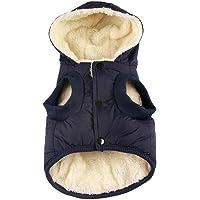 RC GearPro Hundebekleidung Winterjacke mit Kapuze und Kapuze für Katzen und Welpen, für Kleine, mittelgroße und große…