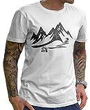 Stylotex Herren T-Shirt Basic MTB , Farbe:weiss;Größe:M
