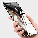 Coque iPhone 7 Plus, Coque iPhone 8 Plus Silicone , Ubegood Crystal Coque iPhone 8 Plus Housse Etui TPU Bumper Anti-Scratch Ultra-Thin Soft Cover pour iPhone 7 Plus / 8 Plus - Noir