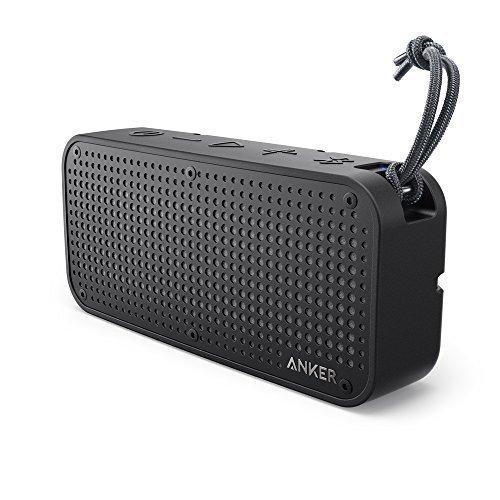 Anker SoundCore Sport XL altavoz portátil bluetooth de 16W doble radiador pasivo, resistencia a polvo y agua nivel IP67 y a prueba de impacto, rango bluetooth 20 m, autonomía 15 horas, micrófono manos-libres, función cargador para móvil.