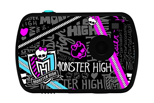 Lexibook DJ021MH - Monster High Digitalkamera, schwarz