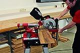 Einhell Zug Kapp Gehrungssäge TE-SM 2534 Dual (1800 W, Sägeblatt Ø 250 mm, Schnittbreite 310 mm, Softstart, schwenkbarer Sägekopf, Laser, LED-Licht) -
