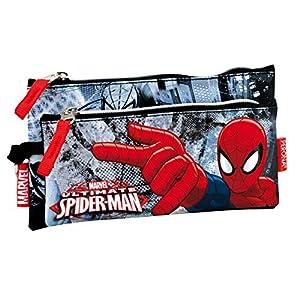 Portatodo Spider-Man Marvel Dark doble