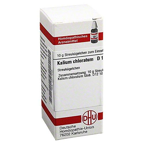 Kalium chloratum D12, 10 g Globuli