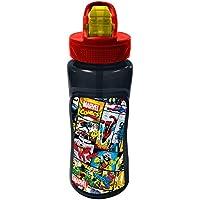 Avengers Marvel Comics Bottle, Black, 591 ml