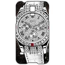 Estilo CALIENTE Ralph Lauren deportivos reloj personalizado plástico delgado personalizados 3D funda L6M057 para Samsung Galaxy S5 mini_3D, compatible con Samsung Galaxy S5 Mini, color multicolor