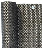 Smart Deko 800x90cm Kupfer Polyrattan Sichtschutz, Balkonsichtschutz, Windschutz, Balkonblende, Garten Sichtschutz