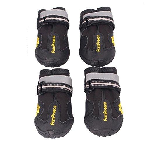 Malloom® Animales Antideslizante Impermeables Botas para Medianas y Grandes Zapatos Perros Labrador...