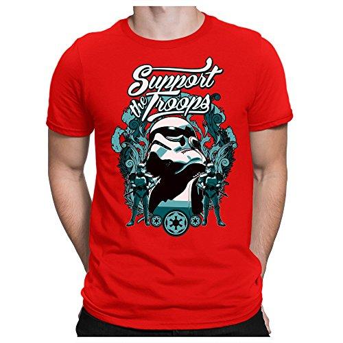 PAPAYANA Support-Troopers - Herren T-Shirt - Star Stormtroopers -