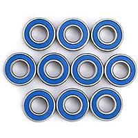 10 Unids MR115-2RSMini Rodamientos de Bolas Teniendo Acero Doble Blindaje Piezas de Repuesto Rodamientos Kit 5x11x4mm