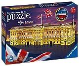 Ravensburger 12529 12529-Buckingham Palace bei Nacht-3D Puzzle