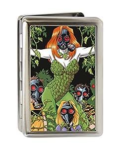 DC Comics Batman-Poison Ivy-Masque à gaz en Métal Multi-usage avec porte-Cartes de visite
