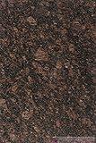 Granitfliesen Tan Brown Musterplatte 10x10x1 cm; Fliesen in Premiumqualität ab 41,90 € qm von Naturstein-Fliese