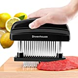 Best Meat Tenderizers - Meat Tenderizer Needle, DIWENHOUSE 48 Ultra Sharp Stainless Review