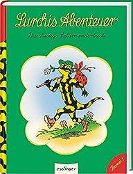 Das lustige Salamanderbuch (1) (Lurchis Abenteuer, Band 1)