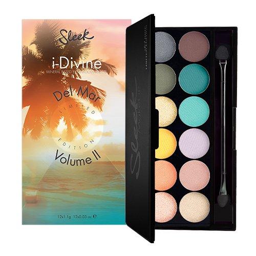 Sleek MakeUP I-divine Palette Ombre à Paupières 450 Del Mar Vol Ii 13,2 g