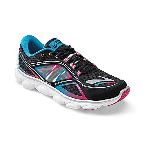 Brooks G Pure Flow, Basses fille Noir/bleu
