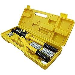 LARS360 Coffret de Pince à Sertir Pince à sertir hydraulique les câbles-10 - 300 mm²