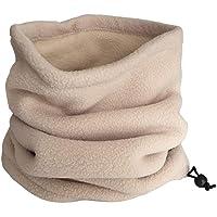 Jackallo Scaldacollo Invernale, Scaldacollo Termico Unisex Sciarpa Invernale in Pile con Coulisse per Uomo e Donna
