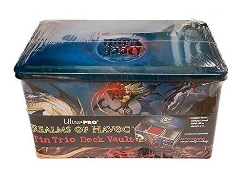 Ultra Pro Realms of Havoc Tin Trio Deck Vault -