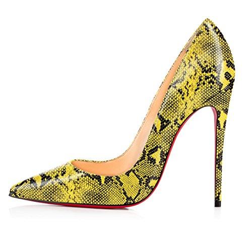 uBeauty - Scarpe da Donna - Scarpe col Tacco - Classiche Scarpe col Tacco - Sexy Tacchi alti Serpentina D