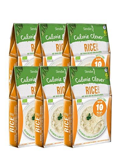 6 x Slendier Rice-Style aus Konjak 250g