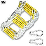 TARTIERY Escape Rope Ladder, Portable Emergency Escape Ladder,Durable Fire Escape Ladder,Emergency Rope Ladder