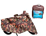 #6: Auto Pearl Premium Quality - 100% Water Proof Jungle Print Bike Body Cover With Mirror Pockets, Buckle Belt, Carry Bag For - Honda Activa 4G