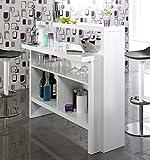 Hausbar Bar Minibar Scully | Weiß H...