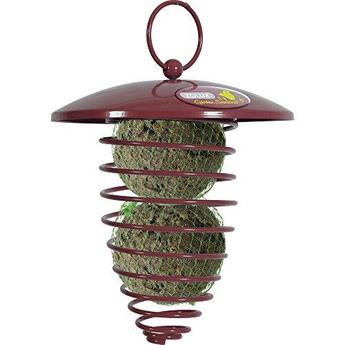 Zolux Spirale Boules de Graisse avec Toit pour Oiseau Grenat