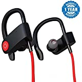 Captcha QC10 Bluetooth Headset Runner Headset Sport Stereo Sweatproof Earphones With Mic And Earhook For All Android & Iphone Smartphones (Assorted Colour)