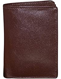 Style98 Brown Premium Quality Pure Leather Women's Wallet|| Men's Travel Wallet|| Unisex Slim Wallet||Small Wallet