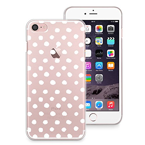 iPhone 7, iPhone 8, iPhone X Coque, iPhone 7 Plus, iPhone 8 Plus Coque, Casesbylorraine mignon Motif Coque souple pour Apple iPhone X, iPhone 7, iPhone 8, iPhone 7 Plus, iPhone 8 Plus P75