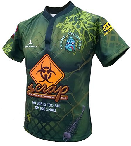 Olorun Swamp Stompers 2015/16 Home S/S Rugby-Shirt 7 X L, Extra Large