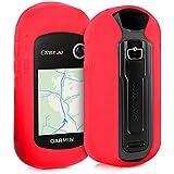 Funda para Garmin eTrex 10/20/30/201x/30x/209x/309x - kwmobile estuche protector de navegador GPS para ciclismo - cubierta case cover para Navi de bicicleta rojo