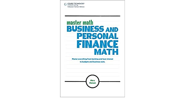 Master Math: Business and Personal Finance Math (Master Math Series)