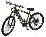 Elektron BM368 - Electric Hybrid Bicycle 17 inches (Black Matte)