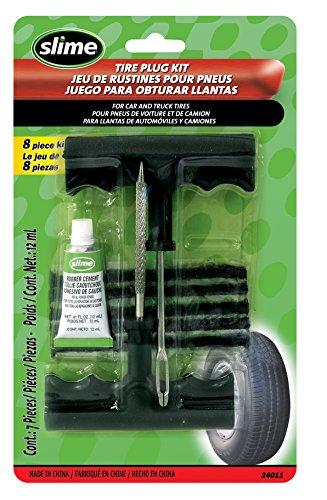 Slime 24011 Reifen-Pannenset mit Stopfen, Set Of 6