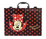 Disney Minnie Mouse Make Up-Koffer (umfangreiches Schmink-Set mit Produkten für Augen, Lippen, Nägel; inkl. Pinsel, Schmuck, Tattoos und Glitzer)