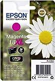 Epson Original T1813 (C13T18134012) Gänseblümchen, Claria Home Tinte, Text- und Fotodruck XL (Singlepack) magenta