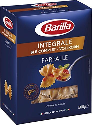 Barilla Pasta Nudeln Farfalle Integrale Vollkorn, 5er Pack (5 x 500 g)